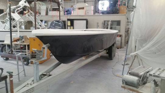 Rebuilt fishing boat